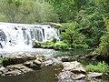 Weir at Monsal Dale - geograph.org.uk - 817100.jpg