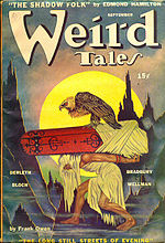 Weird Tales cover image for September 1944