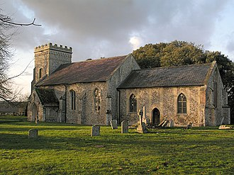 Weston Colville - Image: Weston Colville, St Mary geograph.org.uk 2974