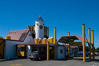 Whakatane - The terminal of the Whakatane Airport.