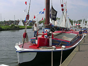 Norfolk Wherry Trust - Wherry Albion