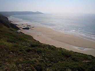 Whitsand Bay - Withnoe (Main) Beach portion of Whitsand Bay