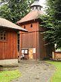 Wiśniowa - Kościół p. w. św. Marcina - Dzwonnica.jpg