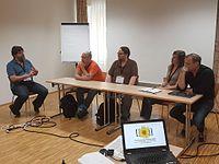 Wikimedia Hackathon 2017-05-19 Fantastic MediaWikis MG 09.jpg
