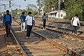 Wikimedia Kolkata Team - Midnapore Railway Station Tracks - West Midnapore - 2015-02-25 6454.JPG