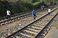 Wikimedia Kolkata Team - Midnapore Railway Station Tracks - West Midnapore - 2015-02-25 6460.JPG