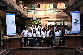 Wikimedians of Nepal Event 2018-06-24 (60).jpg
