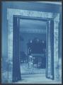 Willard hotel view through a curtained doorway.tif