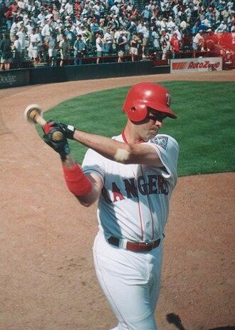 Will Clark - Will Clark on-deck during 1997 MLB season
