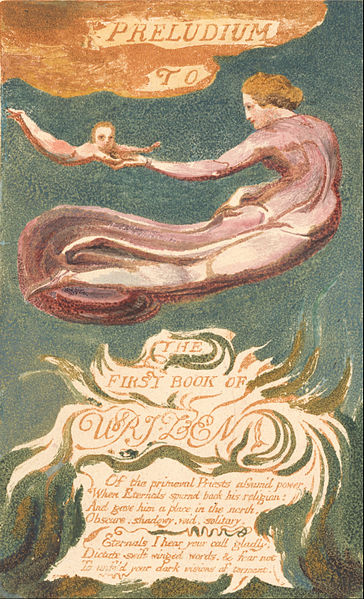 "File:William Blake - The First Book of Urizen, Plate 2, ""Preludium to the Book of Urizen"" (Bentley 2a) - Google Art Project.jpg"