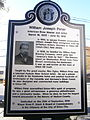 William Peter historical marker-Hudson Ave & Peter Street-Union City.jpg