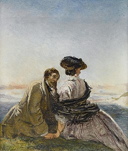 William Powell Frith The lovers