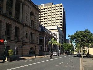 William Street, Brisbane - William Street, looking towards Parliament House.