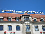 Willy Brandt Erfurt