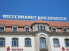 Grand Hotel Erfurt Willi Brandt