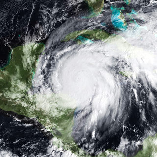 Hurricane Wilma Category 5 Atlantic hurricane in 2005