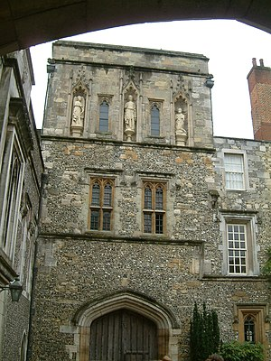 William Wynford - Image: Winchester College 02