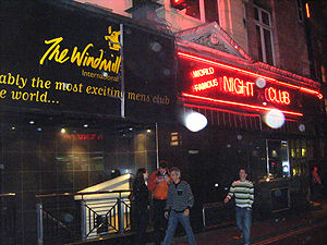 Windmill Theatre - The Windmill Club in 2009