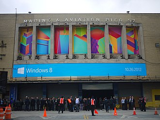 Windows 8 - Windows 8 launch event at Pier 57 in New York City