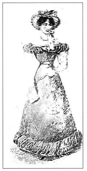 El Iris - Image: Woman in French Republican Fashion El Iris 1826