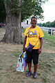 Woman marcher in yellow t-shirt - 50th Anniversary of the March on Washington for Jobs and Freedom.jpg