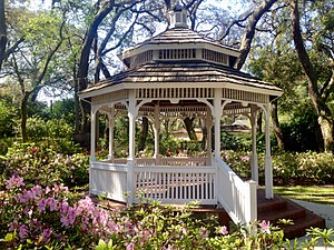 Temple Terrace, Florida - Gazebo at Woodmont Park