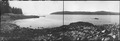 Wrangell Narrows, Alaska. Panorama of the south end of Wrangell, across from Dec. Point., p. 1 of 2 - NARA - 298769.tif