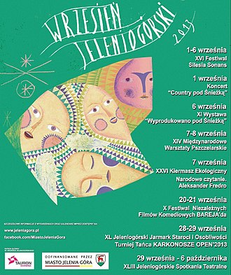 Jelenia Góra - 55 Wrzesień Jeleniogórski, poster from 2013