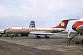YU-AHH Tu-134A Aviogenex LGW 22FEB70 (6798534404).jpg