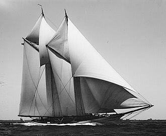 Yampa (yacht) - The Yampa in 1893