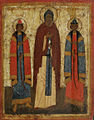 Yaroslavl saints (15th c., Museum of Russian icon).jpg