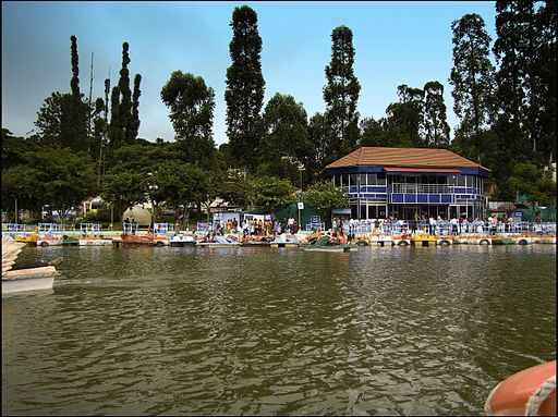 Yercaud Lake - Boat House