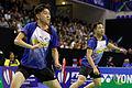 Yonex IFB 2013 - Quarterfinal - Koo Kien Keat-Tan Boon Heong vs Chris Adcock-Andrew Ellis 16.jpg