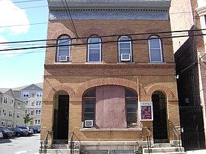 Public Bath House No. 2 - Image: Yonkers 2013 072 Public Bath House No.2, 27 Vineyard Ave., Front side