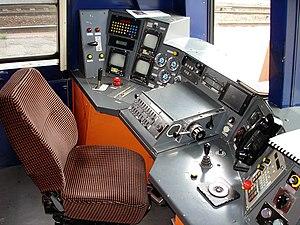 SNCF Class Z 20500 - Image: Z 20500 Pupitre 01