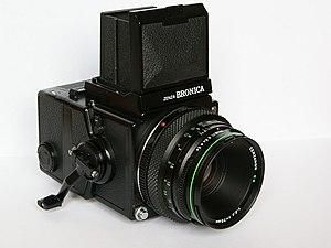 Bronica - Zenza Bronica ETRS with Zenzanon EII 75mm f2.8 lens
