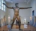 Zeus lançant la foudre (Musée national d'archéologie, Athènes) (30644678282).jpg