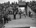 Zevende Internationale Marathonloop te Enschede, P Bleeker , Nederlands Kampioe, Bestanddeelnr 910-5965.jpg
