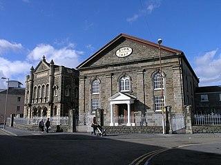 Zion Baptist Chapel, Llanelli Church in Wales, United Kingdom