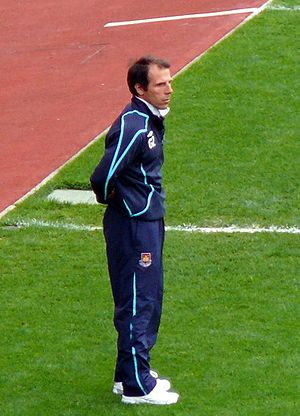 Gianfranco Zola - Zola as manager of West Ham United in 2009