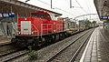 Zwijndrecht DB 6431 met containertrein (9464328132).jpg