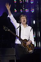 Paul McCartney on the Out There tour, April 2014