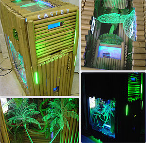 Case modding - A bamboo custom case