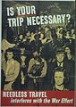 """""""Is Your Trip Necessary^ Needless travel interferes with the war effort"""" - NARA - 513810.jpg"""