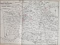"""""""Map No. 1 Showing villages treated on January 1st 1898"""" """"Plague Infected Area"""" map, from- Report on the outbreak of plague in the Jullundur and Hoshiarpur districts of the Punjab, 1897-98 (IA b24975886) (page 7 crop).jpg"""