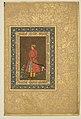 """""""Portrait of Rup Singh"""", Folio from the Shah Jahan Album MET DP164659.jpg"""