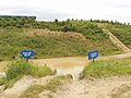 """Suicide drop"" on Silverstone 4x4 course - geograph.org.uk - 478771.jpg"