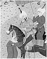 """Sultan Sanjar and the Old Woman"", Folio 17 from a Khamsa (Quintet) of Nizami MET 218317.jpg"