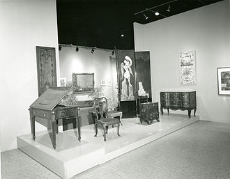 "Cooper Hewitt, Smithsonian Design Museum - The 1967 exhibition ""Treasures from the Cooper Union."""