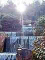 """""""Wasserfälle"""" im Gegenlicht - panoramio.jpg"""